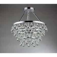 eleanor 5 light chrome crystal chandelier