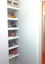 designer shoe shelves on a budget