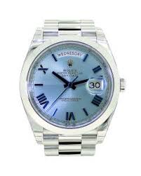 mens platinum watches for rolex day date ii platinum blue r 218206
