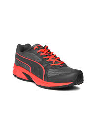puma shoes pink and black. puma men black running shoes pink and
