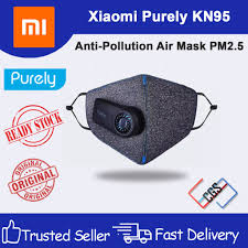 [Ready Stock] Xiaomi <b>Purely KN95 Anti</b>-<b>Pollution</b> Air <b>Mask</b> PM2.5 ...