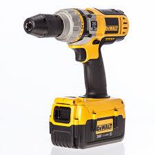 dewalt cordless drill. dewalt dc901m2 36v cordless hammer drill / driver (2 x 4ah batteries)