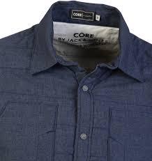 Mens Jack And Jones Reader Quilted Core Shirt &  Adamdwight.com