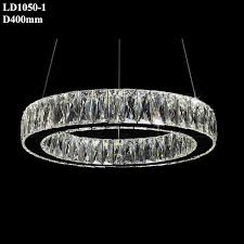 title chandelier decorative light ceiling light fittings led light ring item no ld1050 1 size dia400mm material stainless steel k9 crystal