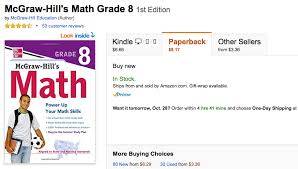 th grade math worksheets problems games and tests 8th grade math workbook mcgraw hill
