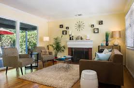 view in gallery yellow acts as a perfect backdrop for the stylish living space design elegant domain