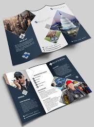 Design Professional Trifold Brochure