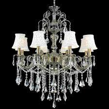 beautiful mini crystal chandelier