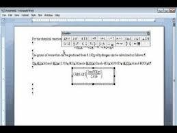 microsoft equation editor you