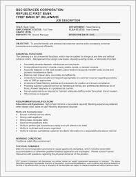 Retail Skills Resume Examples Free Download