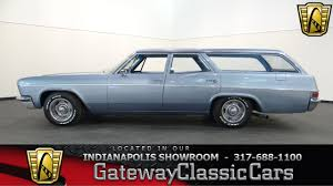 1966 Chevrolet Bel Air Wagon - Gateway Classic Cars Indianapolis ...