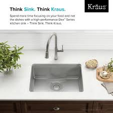 Ss Undermount Kitchen Sinks Optimum Rectangular Stainless Steel 25 Inch Undermount Kitchen Sink