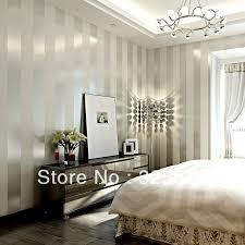 Stripe Zebra BlackWall Paper Wallpaper Roll Modern Feature Vertical  Stripedwallpaper Wallpaper Stripes Bedroom Living Room Plain In Wallpapers  From Home ...