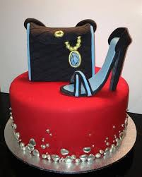 12 Purse Cakes For Women Shoes Photo Ladies Birthday Cakes Coach