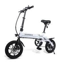 Buy <b>Samebike YINYU14 Smart Folding</b> Bicycle Moped Electric Bike ...
