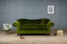 velvet chesterfield sofa.  Velvet Old Bessie Velvet Chesterfield Sofa Intended E