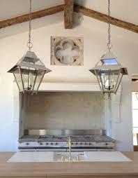 Kitchen Lantern Lights Patina Farm Update Kitchen Lights Plumbing Fixtures And Marble