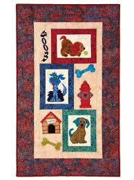 Mixed Mutts Classic Quilt Pattern or Pattern w/ Embroidery USB ... & Mixed Mutts Classic Quilt Pattern or Pattern w/ Embroidery USB Adamdwight.com