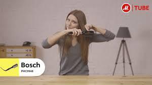 Как стильно уложить волосы с <b>Bosch PHC9948</b> - YouTube