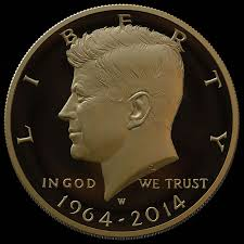 2014 50th Anniversary Kennedy Half Dollar Gold Coin Pricing