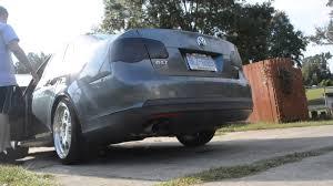 2006 GLI w/ turboback APR RSC exhaust - YouTube