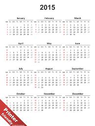 Simple 2015 Calendar Simple Calendar 2015 For Powerpoint