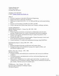Cad Drafter Resume Example