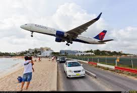 N665dn Delta Air Lines Boeing 757 200 At Sint Maarten