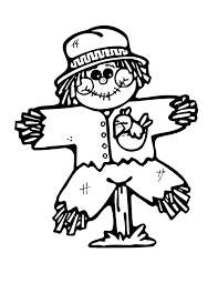printable scarecrow coloring pages printable scarecrow coloring pages free scarecrow coloring pages free preschool fall coloring