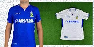 Novas camisas do Santo André 2020 Ícone Sports » Mantos do Futebol