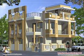 indian house elevation 2370 sq ft view floor plans