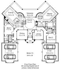 House Plan With Car Garage Remarkable Plans Floor Slyfelinoscom Four Car Garage House Plans