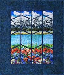 The Rushin' Tailor : Majestic Mountain Quilt Kit [77208] - $58.00 & Majestic Mountain Quilt Kit Adamdwight.com