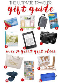 need gift ideas for a friend going to italy or new york or someone who