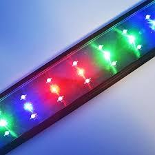 LED Beleuchtung Aquarien Eco Aquarium Leuchte Hochleistung Vollspektrum  Pflanzen Koralle LED Lampe Mehrfarbig Tageslichtsimulation Aufsetzleuchte  Fische