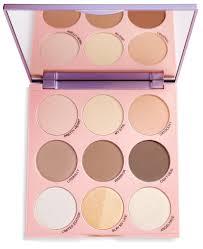 makeup revolution x imogenation paleta do konturowania highlight to the moon