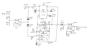 audio limiter figure 1 circuit diagram of the limiter update i have now increased the value of c5 to 100 μf which increased the release time of the limiter