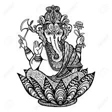 Ganesha Tattoo Drawing At Getdrawingscom Free For Personal Use