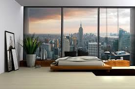 New York Skyline Wallpaper For Bedroom Photo Wallpaper Wall Murals Paper Decorations Home New York Window