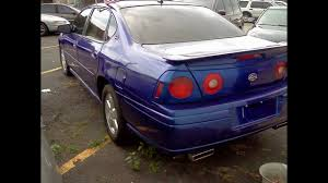 2005 Chevrolet Impala SS Royal Blue You'll Drive A Fast Car - YouTube