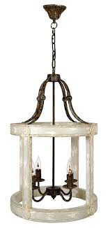 white orb chandelier wood