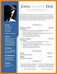 Different Formats Different Resume Formats Popular Resume Writing