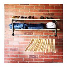 popular items laundry room decor. Popular Items For Closet Organizer On Etsy 34 Inch Industrial Clothing Rack And Double Shelf Laundry Home Decor Room