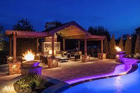 Mika lighting Isinglass Pegola Lighting Omaha Nebraska Elements Of Design Outdoor Lighting Ideas Inspiration Mckay Landscape Lighting