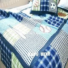 kids baseball bedding baseball bed set free kids bedding set baseball children boys handmade applique
