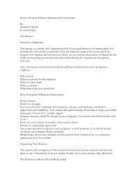 Write Effective Cover Letter Nardellidesign Com How To A Resume 11