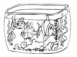 Coloriage Aquarium A Imprimer