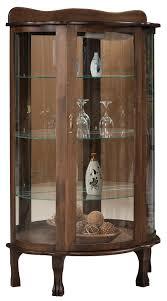 Corner Kitchen Curio Cabinet Curio Cabinet From Dutchcrafters Amish Furniture