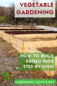 how to build a raised bed vegetable garden easy raised bed garden plans for growing vegetables