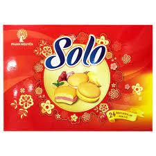 Bánh Solo khay 336g bơ sữa Phạm Nguyên